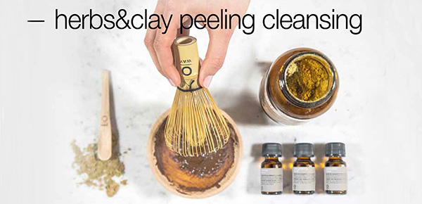 Herb s& Clay peeling cleansing